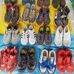 Hefei specialized in exporting old shoes